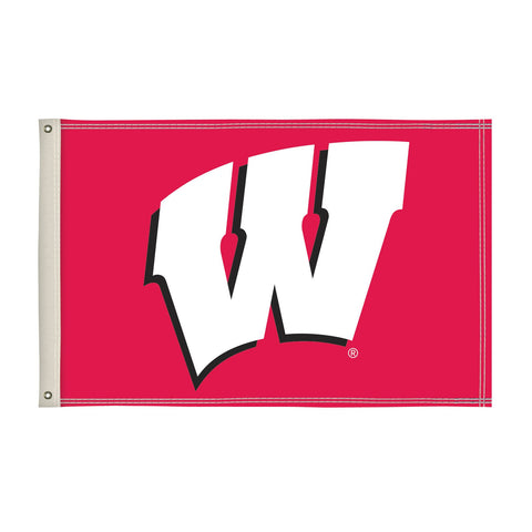 Wisconsin Badgers 2' X 3' Flag 002