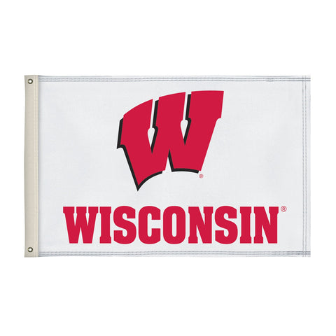 Wisconsin Badgers 2' X 3' Flag 003