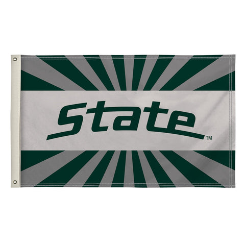 Michigan State Spartans 3' X 5' Flag 002