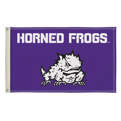 Tcu Horned Frogs 3' X 5' Flag 001