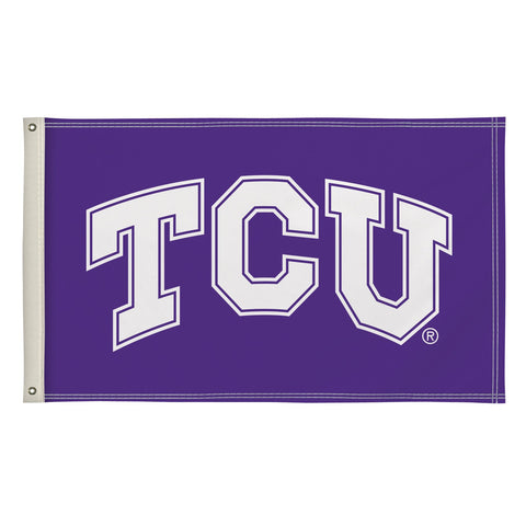 Tcu Horned Frogs 3' X 5' Flag 002