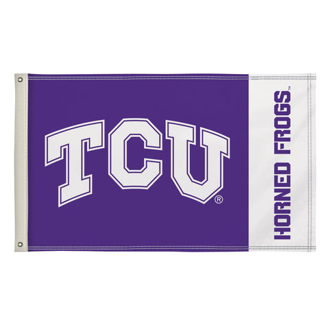 Tcu Horned Frogs 3' X 5' Flag 003