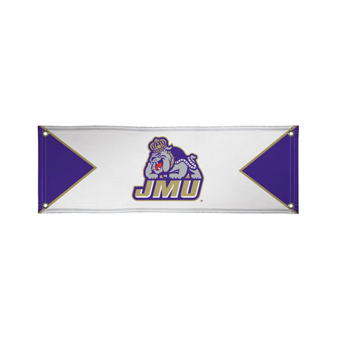 James Madison Dukes 2' X 6' Vinyl Banner 001