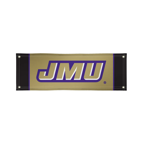 James Madison Dukes 2' X 6' Vinyl Banner 002