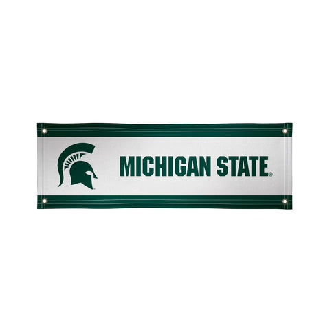 Michigan State Spartans 2' X 6' Vinyl Banner 001
