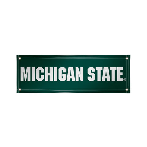 Michigan State Spartans 2' X 6' Vinyl Banner 002