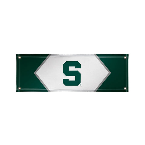 Michigan State Spartans 2' X 6' Vinyl Banner 003