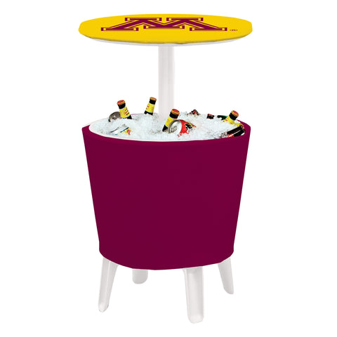 Minnesota Golden Gophers Event Cooler Table 002