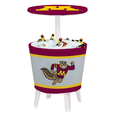 Minnesota Golden Gophers Event Cooler Table 003