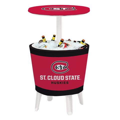 St. Cloud State Huskies Event Cooler Table 003