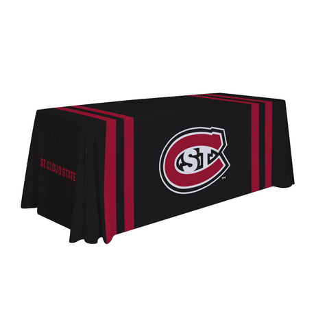 St. Cloud State Huskies 6' Table Throw 002