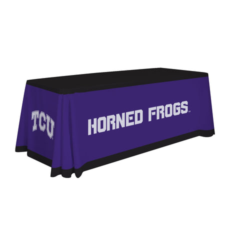Tcu Horned Frogs 6' Table Throw 001