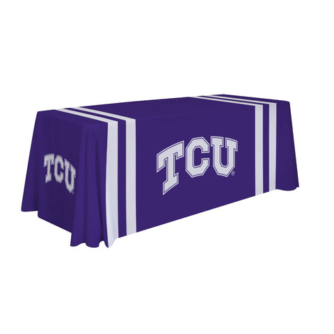 Tcu Horned Frogs 6' Table Throw 002