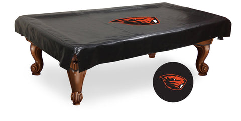Oregon State Beavers Billiard Table Cover
