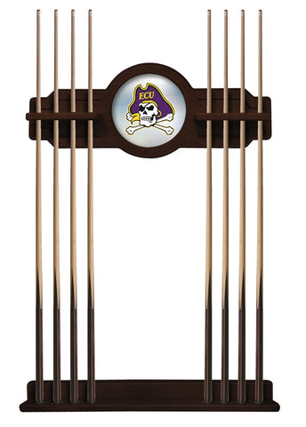 East Carolina Pirates Cue Rack in English Tudor