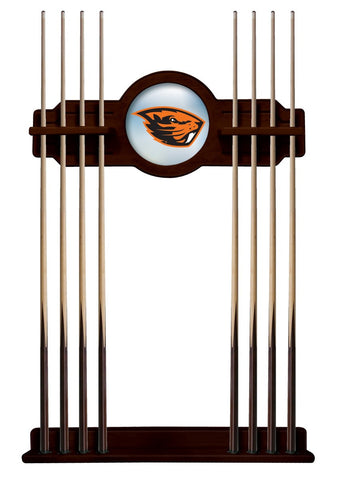 Oregon State Beavers Cue Rack in English Tudor