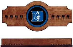 Duke Pool Cue Rack in Pecan Finish