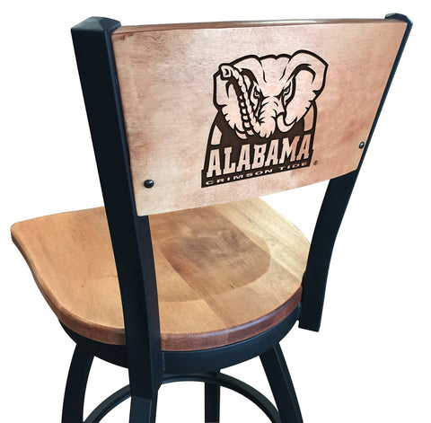 "Alabama Crimson Tide Elephant Logo 25"" Counter Stool"