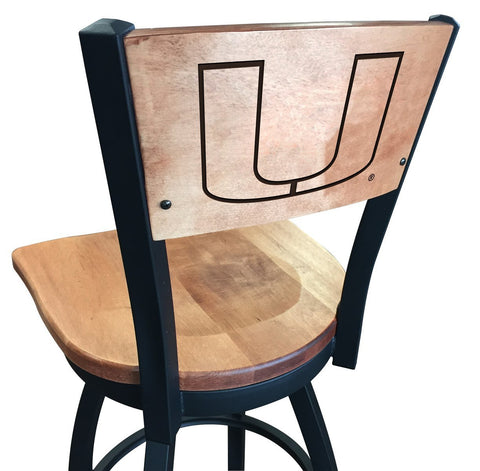 "Miami Hurricanes 25"" Counter Stool"