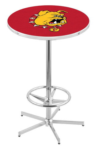 "Ferris State Bulldogs Pub Table Foot Ring 42"" High"