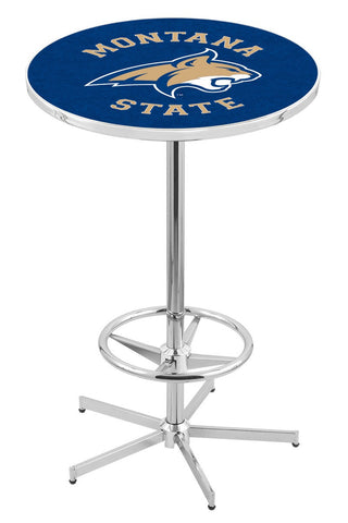 "Montana State Bobcats Pub Table Foot Ring 42"" High"