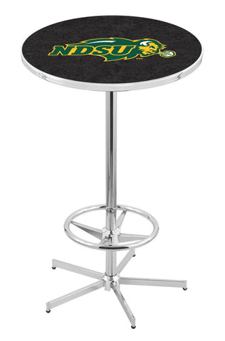 "North Dakota State Bison Pub Table Foot Ring 42"" High"