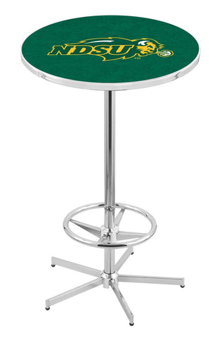 "North Dakota State Bison Green Pub Table Foot Ring 42"" High"