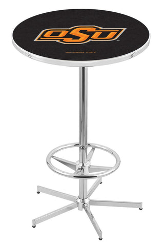 "Oklahoma State Cowboys Pub Table Foot Ring 42"" High"
