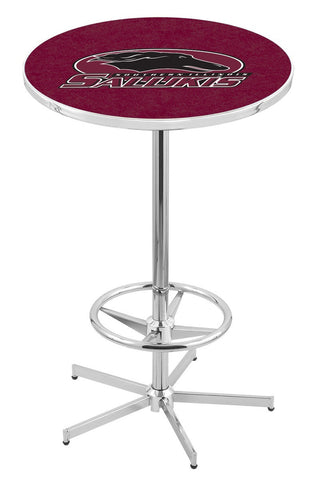 "Southern Illinois Salukis Pub Table Foot Ring 42"" High"