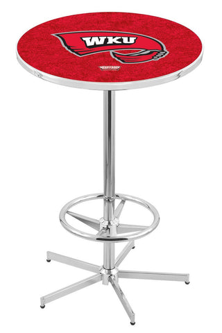 "Western Kentucky Hilltoppers Pub Table Foot Ring 42"" High"