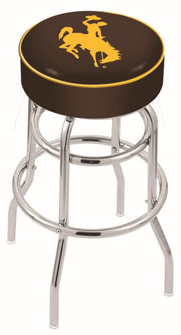 Wyoming Cowboys Retro Bar Stool 25""
