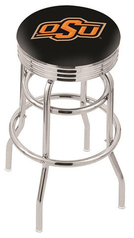 Oklahoma State Cowboys Retro II Bar Stool 30""
