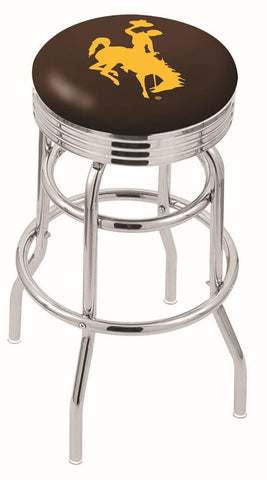 Wyoming Cowboys Retro II Bar Stool 25""