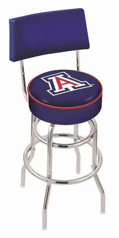 Arizona Wildcats Retro Bar Stool with Back 25""