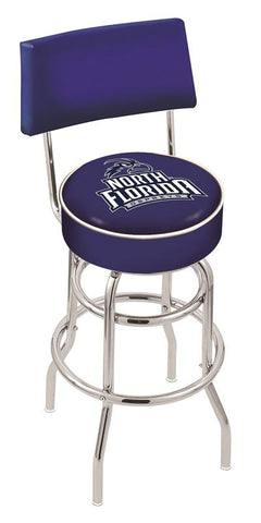 North Florida Ospreys Retro Bar Stool with Back 25""