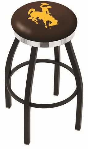 Wyoming Cowboys Contempo III Bar Stool 25""