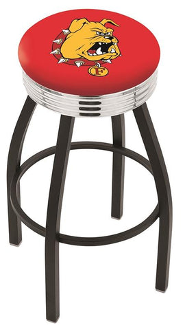 Ferris State Bulldogs Contempo IV Bar Stool 30""