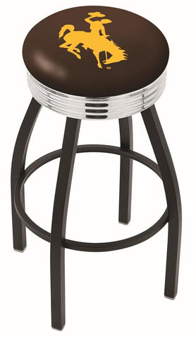 Wyoming Cowboys Contempo IV Bar Stool 25""