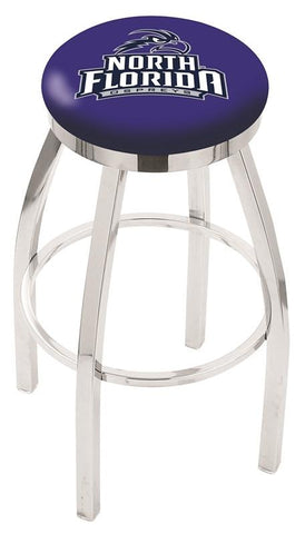 North Florida Ospreys Modern II Bar Stool 25""