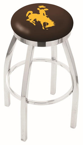 Wyoming Cowboys Modern II Bar Stool 25""