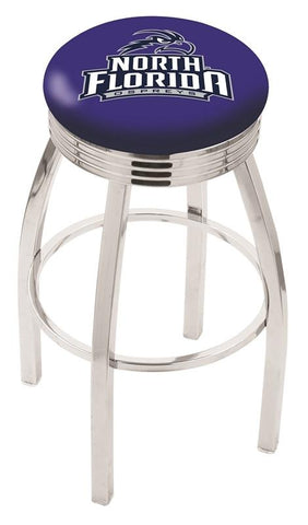North Florida Ospreys Modern III Bar Stool 25""