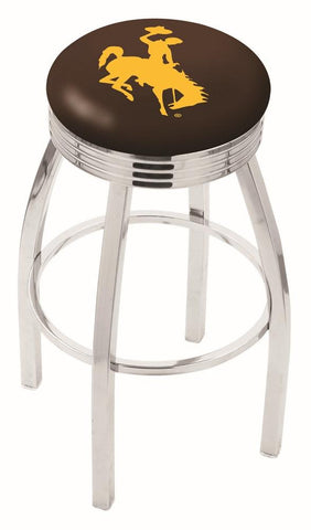 Wyoming Cowboys Modern III Bar Stool 25""