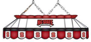 NC State Wolfpack Tiffany Pool Table Light