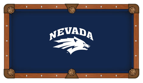 Nevada Wolf Pack Pool Table Cloth