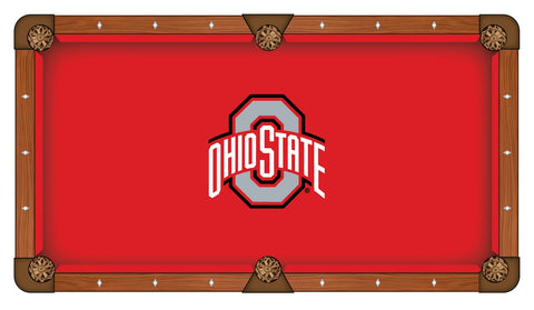 Ohio State Buckeyes Pool Table Cloth