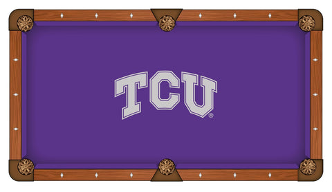 TCU Horned Frogs Pool Table Cloth
