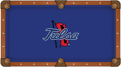 Tulsa Golden Hurricanes Pool Table Cloth