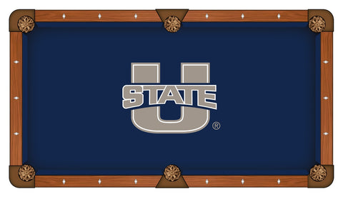 Utah State Aggies Pool Table Cloth