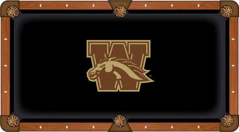 Western Michigan Broncos Pool Table Cloth