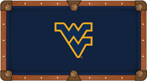 West Virginia Mountaineers Pool Table Cloth